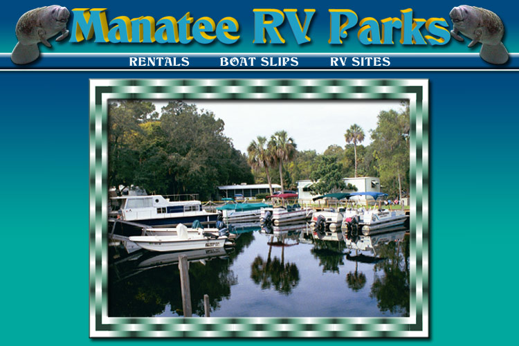 Manatee RV Park, Campgrounds Homosassa Florida, Florida RV Parks, RV Sites for rent